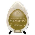 Tsukineko - Memento - Fade Resistant Dye Ink Pad - Dew Drop - Pistachio