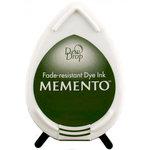 Tsukineko - Memento - Fade Resistant Dye Ink Pad - Dew Drop - Olive Grove