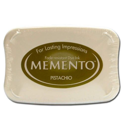 Tsukineko - Memento - Fade Resistant Dye Ink Pad - Pistachio