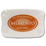 Tsukineko - Memento - Fade Resistant Dye Ink Pad - Peanut Brittle