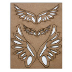 Want2Scrap - Chipboard Pieces - Angel Wings