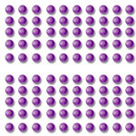Want2Scrap - Say it With Bling - Adhesive Pearls - Baby Bling - Purple
