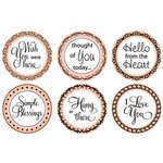 Mason Row - A Warm Hello Stamp Set