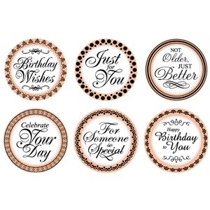Mason Row - Birthday Sentiments Stamp Set