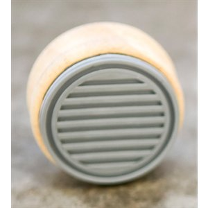 Mason Row - Wood Block - Rubber Stamp - 1 5/8 Inch Diameter
