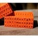 Mason Row - Pegz - Rubber Stamp Set - Lower Case - Bodoni Font
