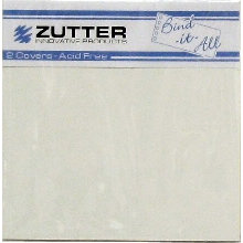 Zutter - Bind-It-All - Covers - 6.2x6.2 Inches - White
