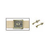Zutter - Perfect Closures - Album Strap - Key Hole and Keys 1