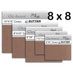 Bind It All - Zutter - Clip-Board Wood Covers - 8x8