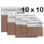Bind It All - Zutter - Clip-Board Wood Covers - 10x10