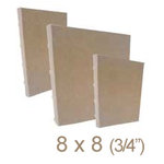 Zutter - 8 x 8 Cover All - Three Quarter Inch Bamboo Spine - Craft