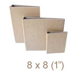 Zutter - 8 x 8 Cover All - One Inch Flat Spine - Craft