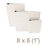 Zutter - 8 x 8 Cover All - One Inch Flat Spine - White