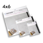 Zutter - Bind-It-All - Pre-Punched Page Protectors - 4 x 6