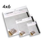 Zutter - Bind-It-All - Pre-Punched Page Protectors - 4 x 6 - 6 Pack