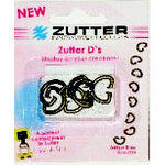 Zutter - D's - Metal D-Rings - Antique Brass