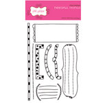 Pink Paislee - Clear Stamps - Needful Things, CLEARANCE