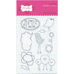 Pink Paislee - Spring Fling Collection - Clear Stamps - Spring Fling, CLEARANCE
