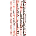 Pink Paislee - Cupid Collection - Clear Stickers - Borderlines