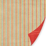 Pink Paislee - 365 Degrees Collection - 12 x 12 Double Sided Paper - Be Free, CLEARANCE