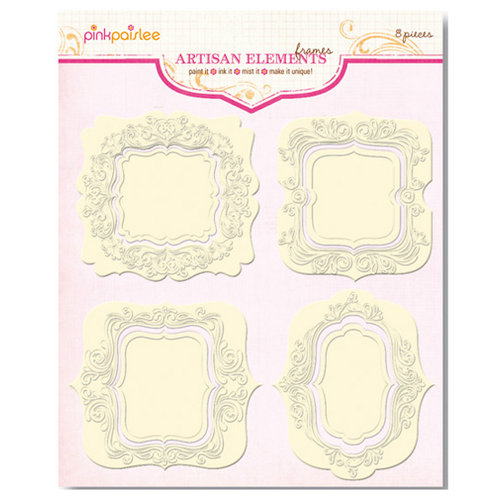 Pink Paislee - Artisan Collection - Elements - Frames