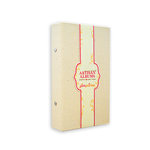 Pink Paislee - Artisan Collection - 4 x 8 Canvas Album - Natural, BRAND NEW