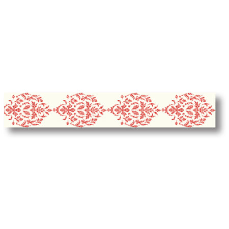 Pink Paislee - Artisan Collection - Paper Tape - Red