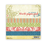 Pink Paislee - 365 Degrees Collection - 6 x 6 Paper Pad
