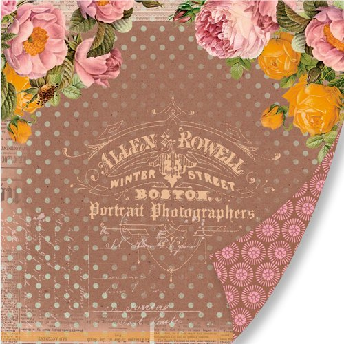 Pink Paislee - Sweetness Collection - 12 x 12 Double Sided Paper - Picture Perfect