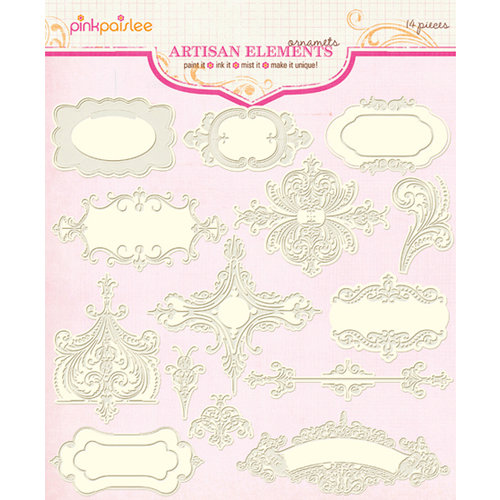 Pink Paislee - Artisan Collection - Elements - Ornaments