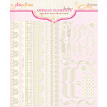 Pink Paislee - Artisan Collection - Elements - Borders
