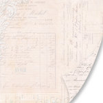 Pink Paislee - House of Three - Parisian Anthology Collection - 12 x 12 Double Sided Paper - Divine Damask