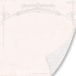 Pink Paislee - House of Three - Parisian Anthology Collection - 12 x 12 Double Sided Paper - Architectural Arch