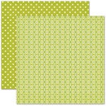 Pink Paislee - Hometown Summer Collection - 12 x 12 Double Sided Paper - Green Acres