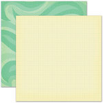 Pink Paislee - Hometown Summer Collection - 12 x 12 Double Sided Paper - Neighborhood Pool