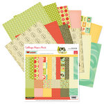 Pink Paislee - Hometown Summer Collection - 12 x 12 Paper Pack