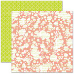 Pink Paislee - House of Three - Soiree Collection - 12 x 12 Double Sided Paper - Music