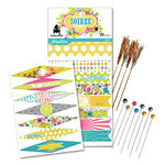 Pink Paislee - House of Three - Soiree Collection - Flags and Party Sticks