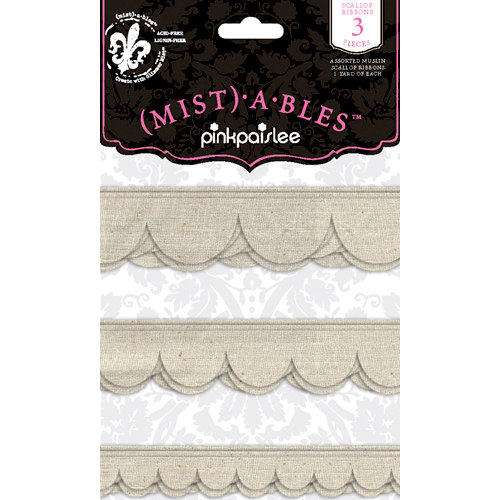 Pink Paislee - Mistables Collection - Scallop Ribbons