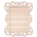 Pink Paislee - Mistables Collection - Wood Shadowbox Frame