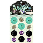 Pink Paislee - Vintage Vogue Collection - Buttons