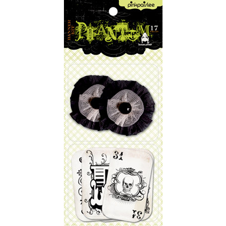 Pink Paislee - House of Three - Phantom Collection - Halloween - Banner Kit