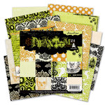 Pink Paislee - House of Three - Phantom Collection - Halloween - 6 x 6 Petite Paper Pack