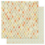 Pink Paislee - Prairie Hills Collection - 12 x 12 Double Sided Paper - Hilltop