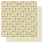 Pink Paislee - Prairie Hills Collection - 12 x 12 Double Sided Paper - Spool