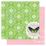 Pink Paislee - Spring Jubilee Collection - 12 x 12 Double Sided Paper - Festival