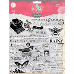 Pink Paislee - Spring Jubilee Collection - Clear Acrylic Stamps
