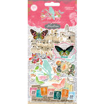 Pink Paislee - Spring Jubilee Collection - Chipboard Stickers