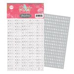 Pink Paislee - Spring Jubilee Collection - Alphabet Stickers - Bitty Blocks