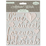 Pink Paislee - Artisan Collection - Resist Words - Cherish